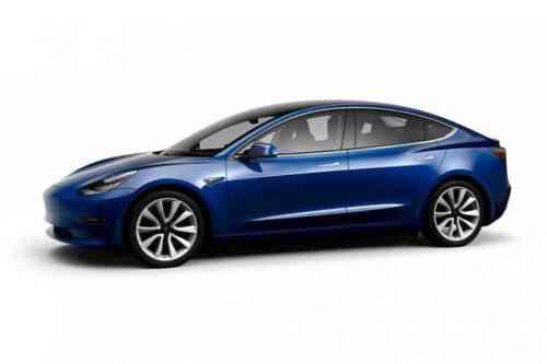 Tesla Model 3 Saloon Performance Upgrade Auto Awd  Electric