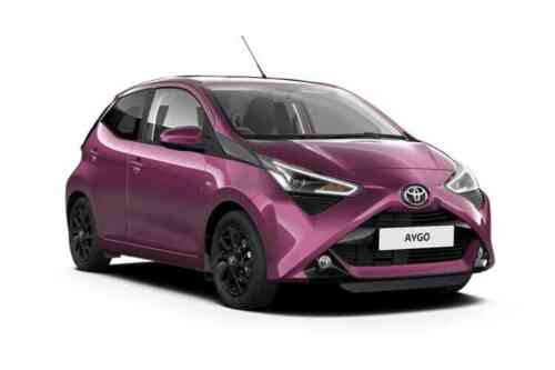 Toyota Aygo 5 Door  Vvt-i X-play X-shift 1.0 Petrol