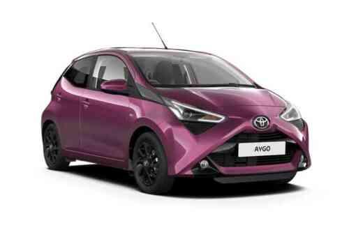 Toyota Aygo 5 Door  Vvt-i X-play X-nav X-shift 1.0 Petrol