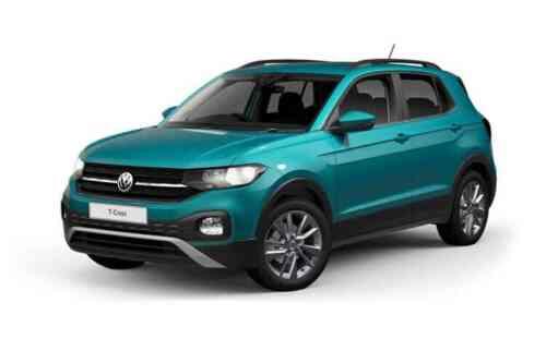 Volkswagen T-cross 5 Door Suv  Tsi Sel Dsg 1.0 Petrol