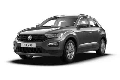 Volkswagen T-roc Hatch  Tdi Sel 4motion 2.0 Diesel