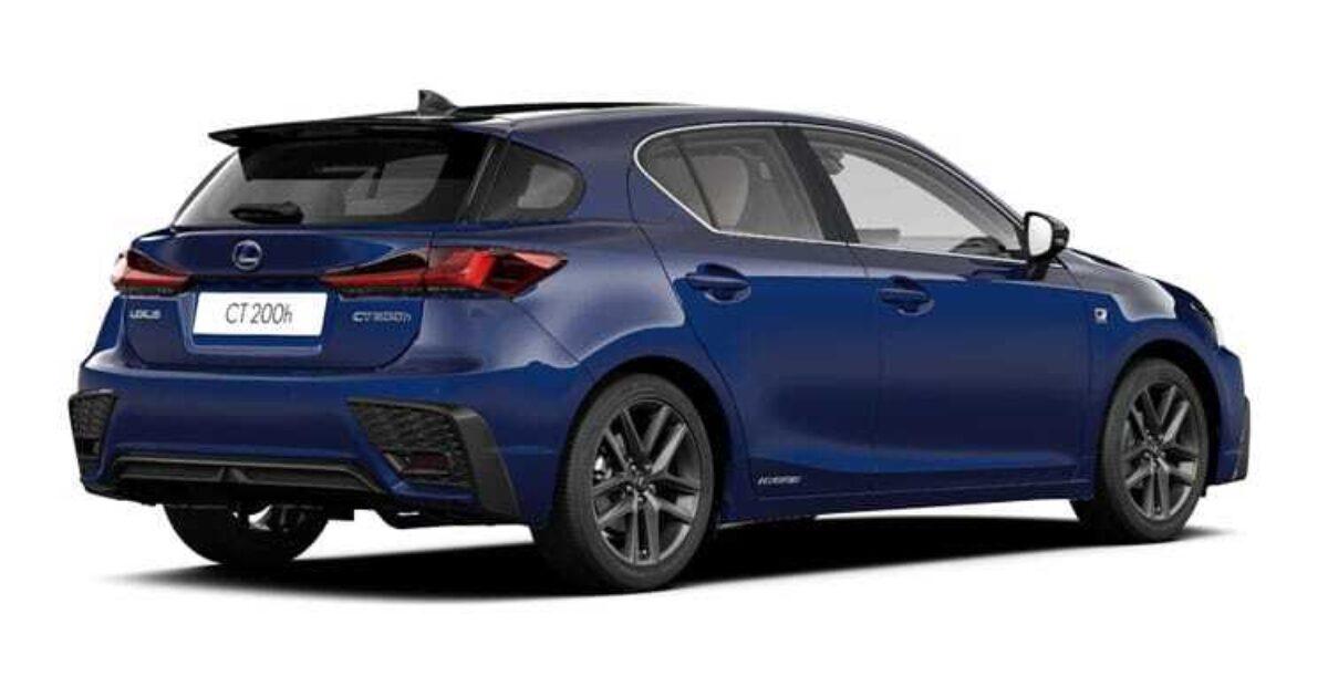 Ford Lease Deals Ct >> Lexus Ct 200h 5 Door Se Plus Pack E-cvt 1.8 Hybrid Petrol