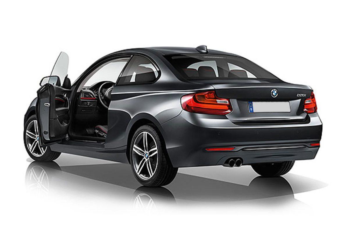 bmw 218d 2 door coupe sport nav auto 2 0 diesel vantage leasing. Black Bedroom Furniture Sets. Home Design Ideas