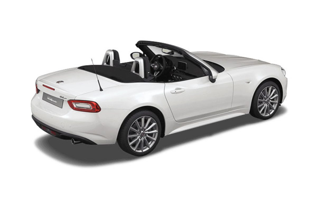 fiat 124 spider multiair lusso plus 1 4 petrol vantage leasing. Black Bedroom Furniture Sets. Home Design Ideas
