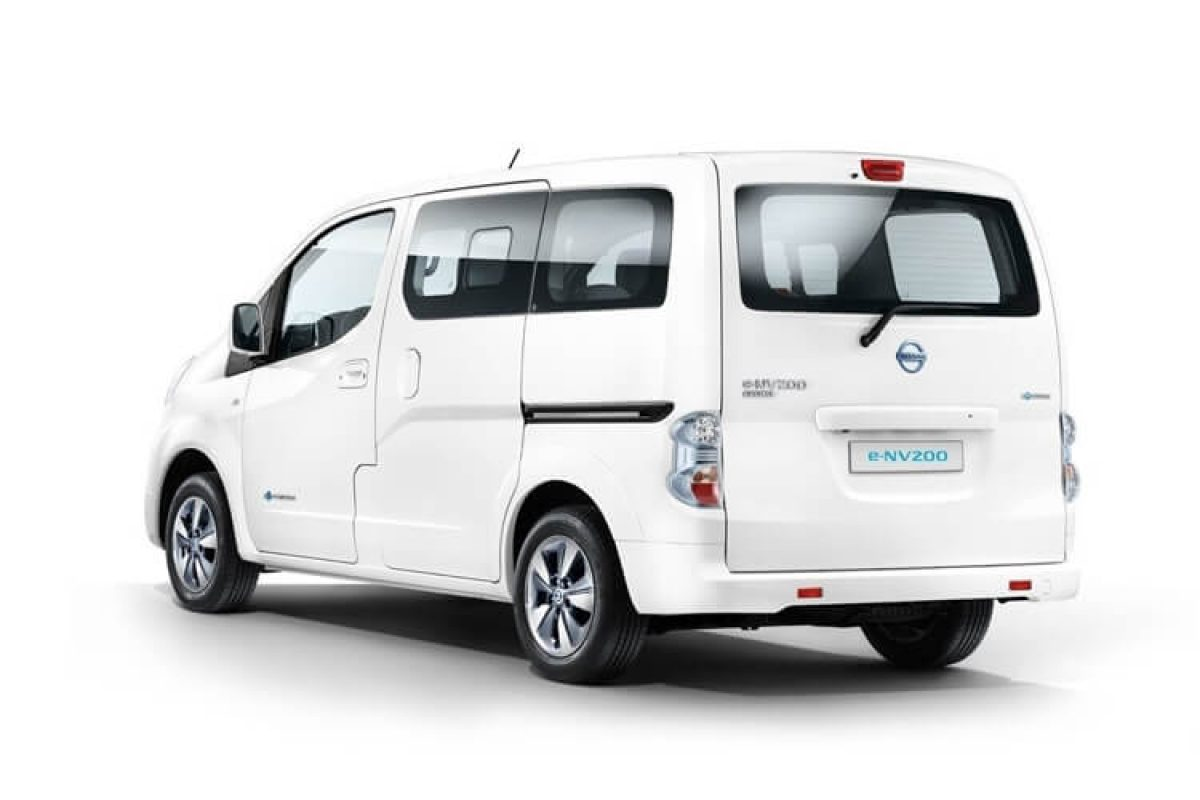 nissan e nv200 evalia 109ps tekna rapid electric vantage. Black Bedroom Furniture Sets. Home Design Ideas